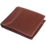 Pánská kožená peněženka SEGALI 70079 tmavý koňak