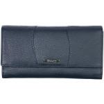 Dámská kožená peněženka SEGALI 10027 tm. modrá
