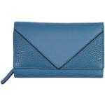 Dámská kožená peněženka SEGALI 3319 nappa modrá/černá