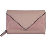 Dámská kožená peněženka SEGALI 3319 nappa červená/černá