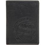Pánská kožená peněženka SEGALI 614816 černá