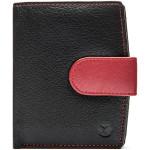 Dámská kožená peněženka SEGALI 61071 černá/červená
