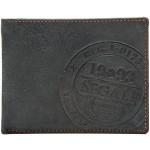 Pánská kožená peněženka SEGALI 614818 B modrá