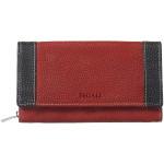 Dámská kožená peněženka SEGALI 61288 WO červená/černá