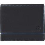 Pánská kožená peněženka SEGALI 1806 černá/modrá