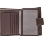 Pánská kožená peněženka SEGALI SG 61326 hnědá