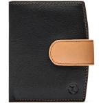 Dámská kožená peněženka SEGALI SG 61071 černá/koňaková