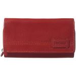 Dámská kožená peněženka SEGALI SG 1770 dakota SLM červená