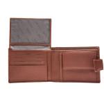 Pánská kožená peněženka SEGALI SG 61325 koňaková