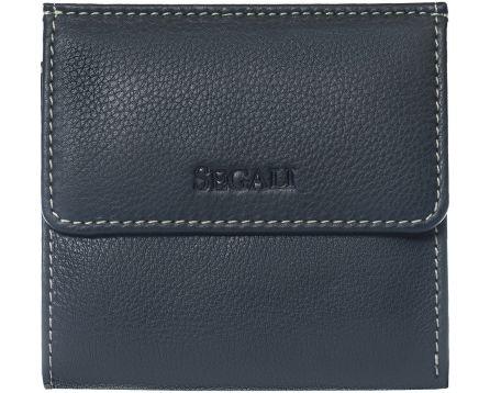 Dámská kožená peněženka SEGALI 661337 modrá