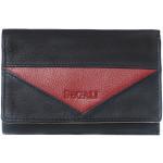 Dámská kožená peněženka SEGALI 7020 černá/červená