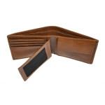 Pánská kožená peněženka SEGALI 70076 lt. koňak