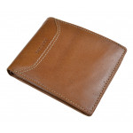 Pánská kožená peněženka SEGALI 70079 lt. koňak