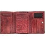 Dámská kožená peněženka SEGALI 720 116 977 červená