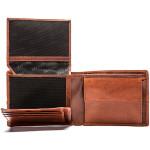 Pánská kožená peněženka SEGALI 720 137 2203 hnědá/koňak