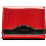 Dámská kožená peněženka SEGALI SG 61420 červená/černá