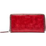 Dámská kožená peněženka SEGALI 612 06 9086 fiama červená