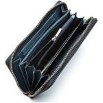 Dámská kožená peněženka SEGALI 612 06 9086 modrá