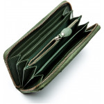 Dámská kožená peněženka SEGALI 4989 zelená