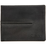 Pánská kožená peněženka SEGALI SG 1027 bronco černá