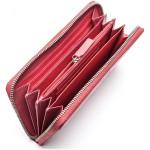 Dámská kožená peněženka SEGALI SG 1084 magenta/šedá