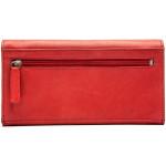 Dámská kožená peněženka SEGALI 1616 červená