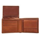 Pánská kožená peněženka SEGALI SG 9676 nevada tan