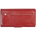 Dámská kožená peněženka SEGALI W 70090 červená