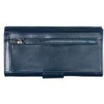 Dámská kožená peněženka SEGALI W 70090 modrá