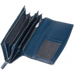 Dámská kožená peněženka SEGALI 70090 modrá
