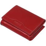 Dámská kožená peněženka SEGALI W 70091 červená