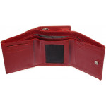 Dámská kožená peněženka SEGALI 70091 červená
