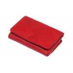 Dámská kožená peněženka SEGALI 10035 červená