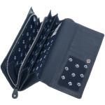 Dámská kožená peněženka SEGALI 10025 tm. modrá