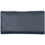 Dámská kožená peněženka SEGALI 10027 modrá
