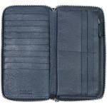 Dámská kožená peněženka SEGALI 10030 tm. modrá