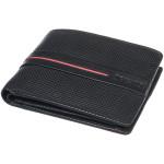 Pánská kožená peněženka SEGALI 2783 nappa černá/červená