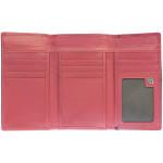 Dámská kožená peněženka SEGALI 3319 nappa růžová/černá