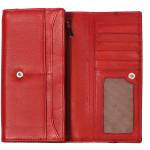 Dámská kožená peněženka SEGALI 3322 červená
