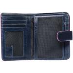 Dámská kožená peněženka SEGALI 3323 rio modrá