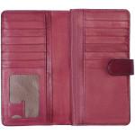 Dámská kožená peněženka SEGALI 3489 magenta
