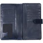 Dámská kožená peněženka SEGALI 3489 modrá