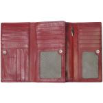 Dámská kožená peněženka SEGALI 3741 rio červená
