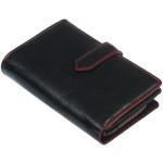 Dámská kožená peněženka SEGALI 3743 černá/červená