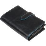 Dámská kožená peněženka SEGALI 3743 roma modrá