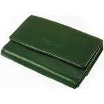 Dámská kožená peněženka SEGALI 1755 floriana zelená