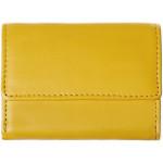 Dámská kožená peněženka SEGALI 1755 floriana žlutá