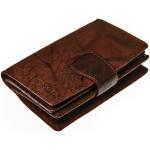 Dámská kožená peněženka SEGALI 9023 A hnědá