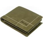 Pánská kožená peněženka SEGALI 02 zelená