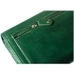 Dámská kožená peněženka SEGALI 28 flat marwell zelená